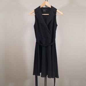 Armani Exchange V Neck Dress